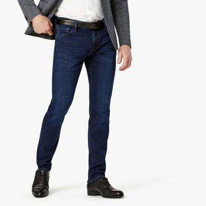 34 Heritage Men's Dark Straight Leg Courage Jeans - Size 35/32